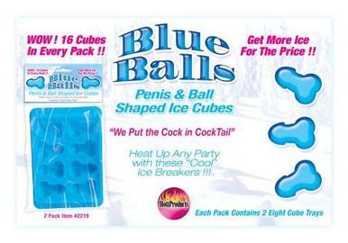 BLUE BALLS PENIS ICE CUBE TRAY | HO2219 | [category_name]