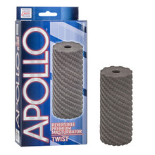 APOLLO REVERSIBLE MASTURBATOR TWIST GRAY | SE095705 | [category_name]