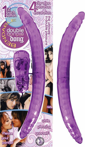 BENDABLE DOUBLE DONG PURPLE | NW19172 | [category_name]