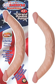 ALL AMERICAN WHOPPER 13IN CURVED DOUBLE DONG | NW2521 | [category_name]