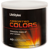 LIFESTYLES ASSORTED COLORS 40PC BOWL   R0156   [category_name]