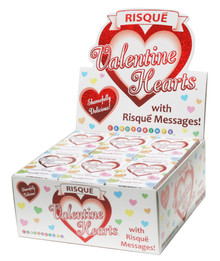 RISQUE HEARTS 24PC DISPLAY | CAP286 | [category_name]