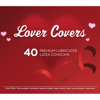 LOVER COVERS 40PC CONTAINER | R00026 | [category_name]