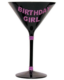 MARTINI GLASS BIRTHDAY GIRL