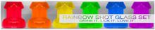 RAINBOW SHOT GLASS SET 6PC | KHENVE22 | [category_name]