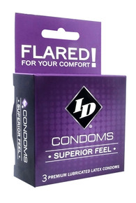 ID SUPERIOR FEEL CONDOM 3PK | IDWSF03 | [category_name]