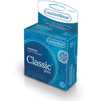 CLASSIC LUBRICATED CONDOMS 3PK