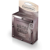 IRON GRIP SNUGGER FIT LUBRICATED CONDOM 3PK | RCW03IG | [category_name]