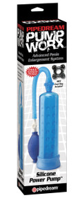 PUMP WORX SILICONE POWER PUMP BLUE | PD325514 | [category_name]