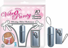 VIBRO PANTY WHITE | NW23851 | [category_name]