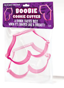 BOOBIE COOKIE CUTTERS 2PK