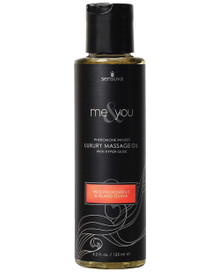 ME & YOU MASSAGE OIL PASSION FRUIT 4.2OZ