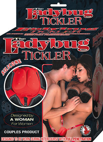 LADYBUG TICKLER RED