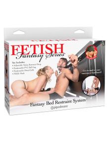 FETISH FANTASY BED RESTRAINT SYSTEM