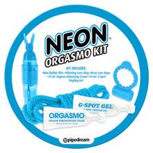 NEON ORGASMO KIT BLUE