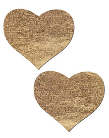 LOVE LIQUID GOLD HEART