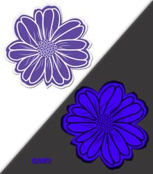WILDFLOWER VIOLET/AQUA