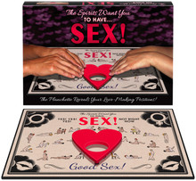 SPIRITS WANT YOU TO HAVE SEX