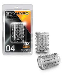 STAY HARD COCK SLEEVE 04 CLEAR