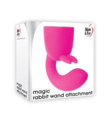 ADAM & EVE MAGIC RABBIT WAND ATTACHMENT PINK