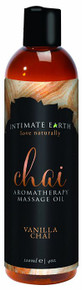 INTIMATE EARTH CHAI MASSAGE OIL 4OZ