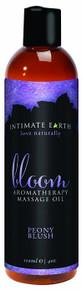 INTIMATE EARTH BLOOM MASSAGE OIL 4OZ