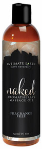 INTIMATE EARTH NAKED MASSAGE OIL 8OZ