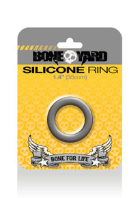 BONEYARD SILICONE RING 35MM GREY