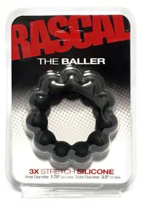 RASCAL STARTER KIT BALLER COCK RING BLACK