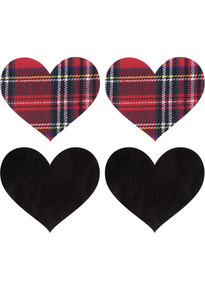 PASTIES SCHOOL GIRL HEARTS