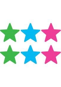 PASTIES NEON STAR 3PK ASST.