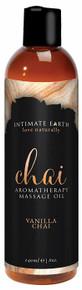INTIMATE EARTH CHAI MASSAGE OIL 8 OZ