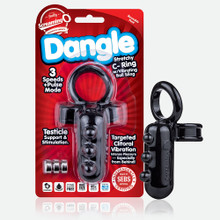 DANGLE C RING BLACK (EACHES)