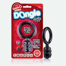 DONGLE C RING BLACK (EACHES)