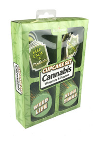 CUPCAKE SET CANNABIS
