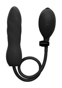 INFLATABLE SILICONE TWIST BLACK