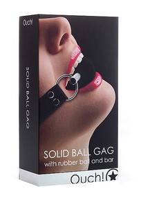 SOLID BALL GAG BLACK