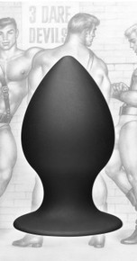 TOM OF FINLAND ANAL PLUG LARGE SILICONE
