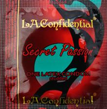 L.A. CONFIDENTAL SECRET PASSION 12PK LATEX CONDOMS