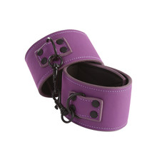 LUST BONDAGE ANKLE CUFF PURPLE