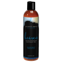INTIMATE EARTH HEAVEN MASSAGE OIL 8 OZ