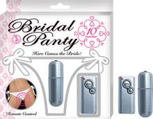 BRIDAL PANTY WHITE