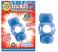 BEST OF MACHO PARTNERS PLEASURE RING BLUE