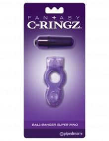 FANTASY C RINGZ BALL BANGER SUPER RING PURPLE