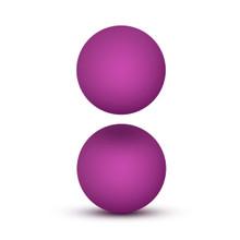 LUXE DOUBLE O KEGEL BALLS 1.3 OZ PINK