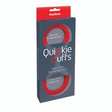 QUICKIE CUFFS RED MEDIUM