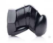 MASTER SERIES DETAINED BLACK RESTRICTIVE CHASTITY CAGE