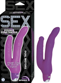SEX DOUBLE PENETRATOR PURPLE