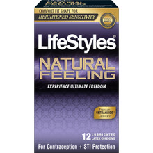 LIFESTYLES NATURAL FEELING 12PK