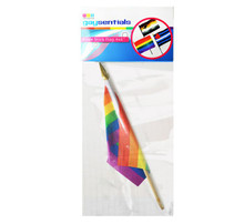 RAINBOW STICK FLAG